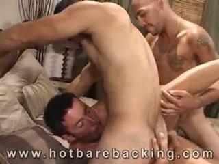 Sexy Bareback 3some