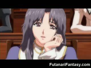 Futanari hentai strip shemale anime manga tranny tekenfilm animatie lul piemel transexual sperma gek dickgirl harmafrodiet