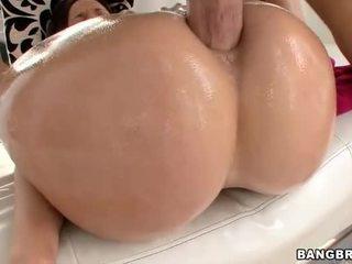 Busty ladies get nailed