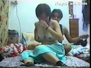 Malay 중국의 두 섹스 아래의 숨겨진 캠