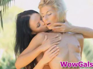 These amazing lesbians will make you think that you are with them