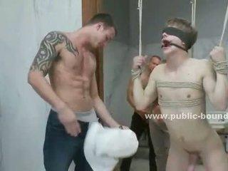Geý fresh guy taking cocks in his palm