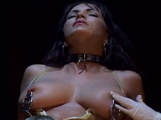 Porner Premium: Busty brunette bdsm babe fucked very hard by a hard cock