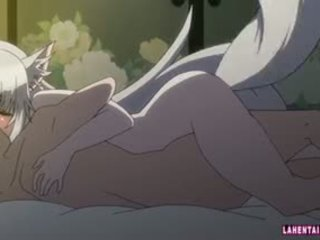 เฮนไท catgirl gets ระยำ และ cums