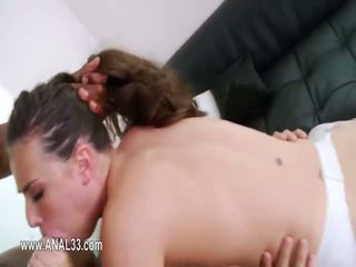 Deep anal fun with sexy toy