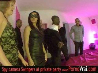 Frans swinger party in een privé club deel 03