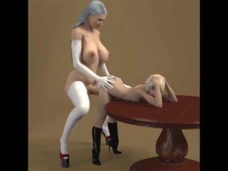 3d seins: gratuit hentaï & 3d porno vidéo 1a