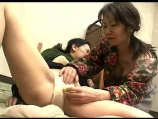 Freaks من طبيعة 119 اليابانية grannys سراويل rubbing 1