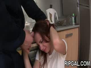 Haar anus is destroyed