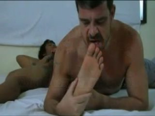 Daddydy And Xavier Foot Worship