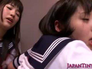 giapponese, sesso di gruppo, pompino