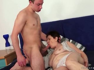 Granny Sex Compilation that is too rau...