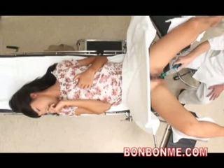 japonais, webcam, médecin