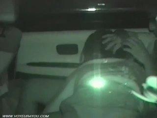 Assento traseiro carro sexo voyeurism