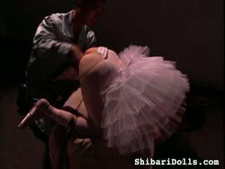 Bundet ballerinaen