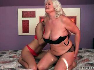 sex lesbian, tua dan muda, hd porn