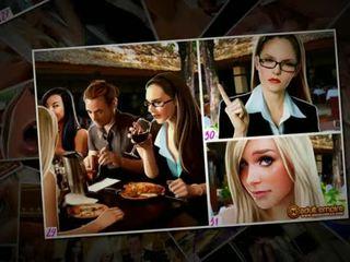 Nicole heat - la boda gang-bang