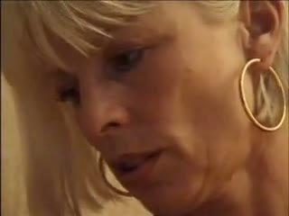 blondinės, miegamasis, mama