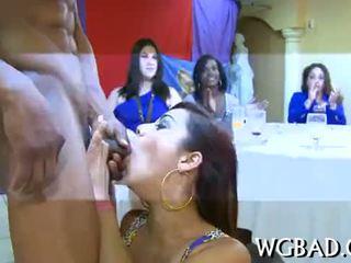 Lusty blowjobs už strippers