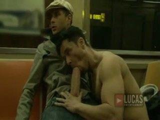 munnsex, stor pikk homofile oral, guy big dick gay