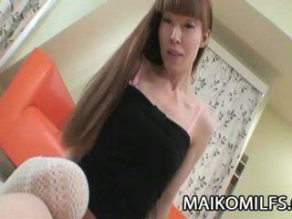Yoshie hirai dun japan mam getting geboord