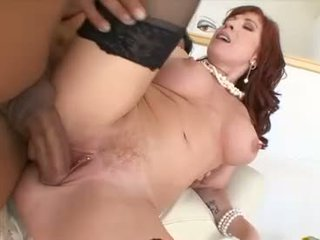 Hot mom Brittany Oconnell gets her pussy stabbed hard with a massive erect cock
