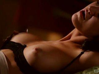 Amazing busty babe Kendall Karson banged
