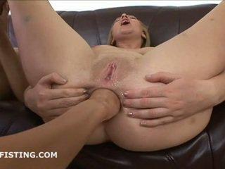 Lesbians love fist fucking ass
