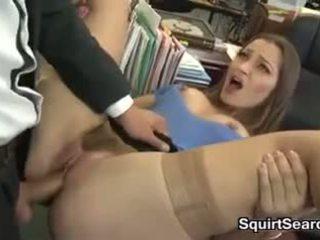 brunette, orale seks, vaginale sex