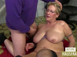 Oma putz: intime hausfrauen & pinxta khiêu dâm video