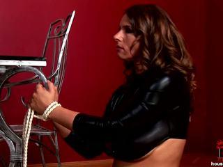 brunette, spanking