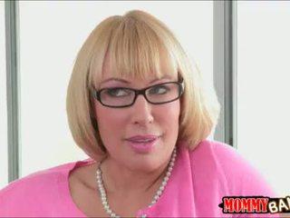 liels, tits, blondīnes