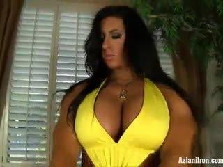 Aziani желязо angela salvagno female bodybuilder получавам гол