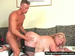 bbw, granny, fett
