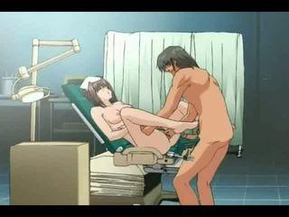 調皮 護士 recieve 肛門 penetration 由 醫生