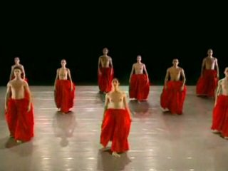 ヌード ダンス ballett グループ