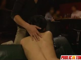 Public Fucking With Sora Aoi Drilled In A Threesome