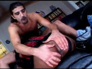 Amazing indian slut sucks and fucks a big dick