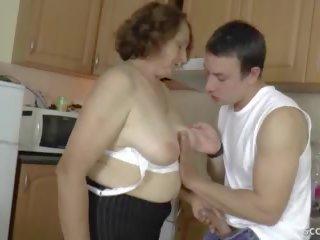 babička, němec, syn