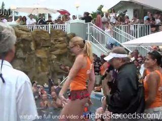 Nudist swinger zwembad party key west