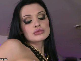 Aletta Ocean and Aleska Diamond fucking in club
