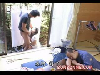 Mother fucked by son when father turu