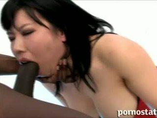 deepthroat, grote lul, japanse
