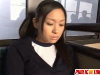 Teen Nana Ogura Fucks A Stranger On A Public Bus