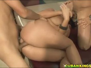 CK - Angelina Castro fucking with two men