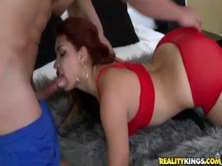 性交性愛, 口交, 紅發