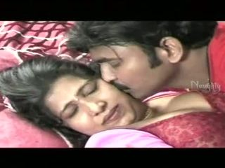 Indian Aunty With Her Husband Romantic...