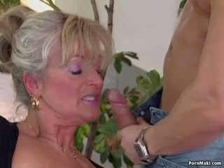 Busty Mature Loves Young Cock, Free Granny Porn Video 94