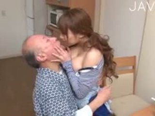 ideal japanese video, big boobs, old+young