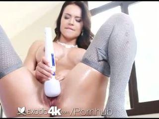 brunette, fresh big dick, see big boobs fun